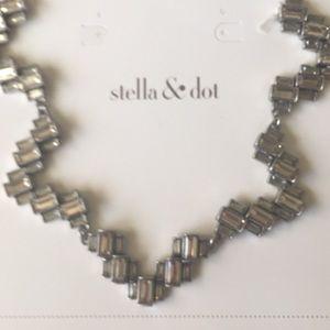 Stella & Dot Hatley Baquette necklace..